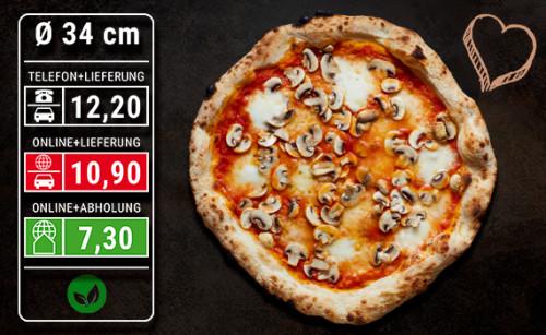 Pizza Funghi Ø 34cm