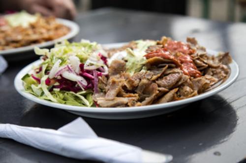 Döner-Teller mit Salat