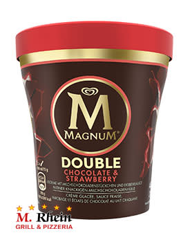 Magnum Becher Double Chocolate & Strawberry
