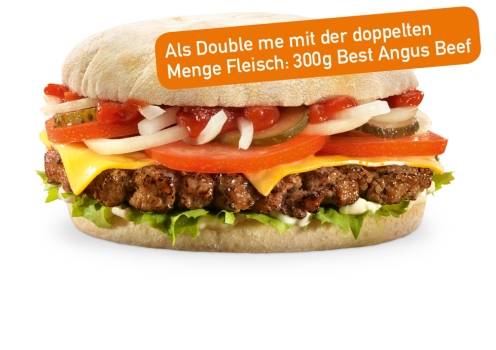 Best Angus Cheese Double me