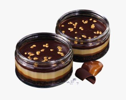 Karamell-Schokoladen-Cheesecake