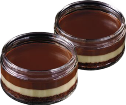 Schokoladen Vanille Cheesecake