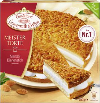 Mandel-Bienenstich-Torte (800g) Coppenrath & Wiese