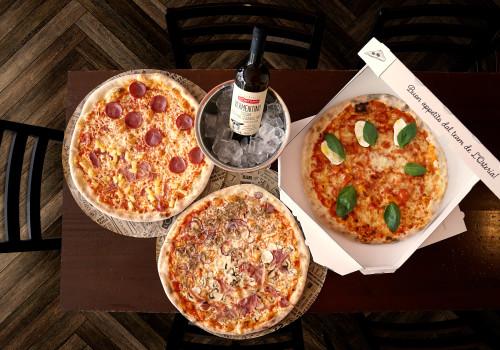 Pizza Variazione & Vino Bianco