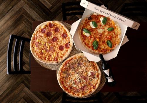 Pizza Variazione & Vino Rosso