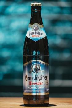 Benediktiner Weissbier Alkohlfrei 0,5l