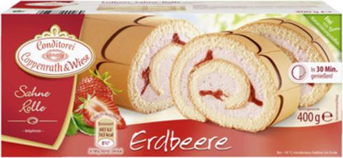 Erdbeer-Sahne-Rolle (400g) Coppenrath & Wiese