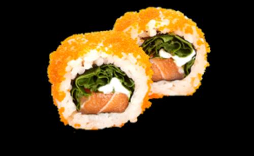 Sake Rucola Roll