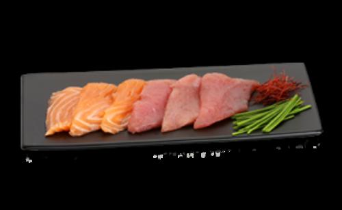 Sashimi Mix (6 Scheiben)