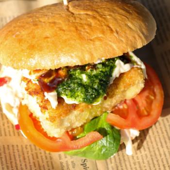 Feta Burger (Vegetarisch)