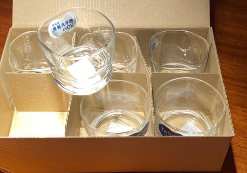 6er Set Tebineri Sake Glas Fluid