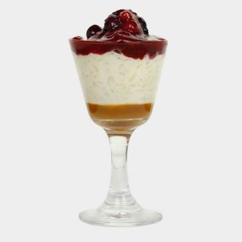 Rice Pudding & Berries