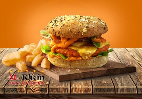 Buffalo Chik'n Burger  135g