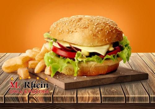 Mediterranen Veggie Burger