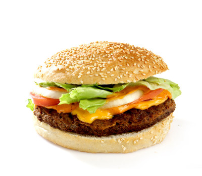 French Double Burger