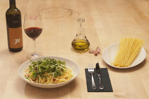 Spaghetti Ruccola