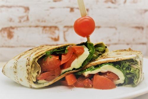 Tomate Mozzarella Wrap
