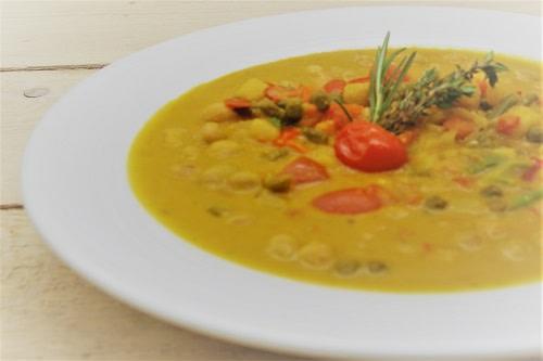 Kichererbsen Kokos Curry