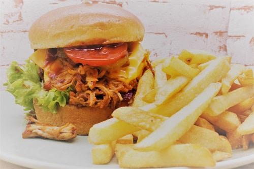 Schweinerei Burger + Pommes