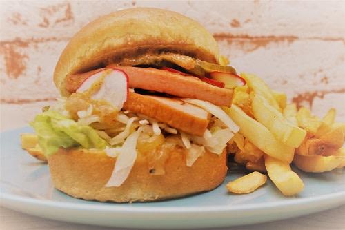 Bavarian Burger + Pommes