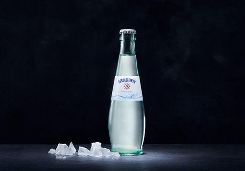 Mineralwasser Sprudel 0,25l