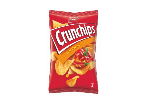 Crunchips Hot Paprika 175g