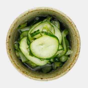 Cucumber Tsukemono