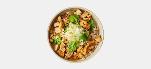 Chicken Thai Rice Bowl