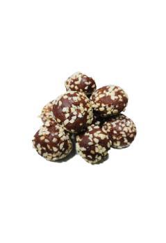 Dattelbällchen mit Mandeln (1 Stück)
