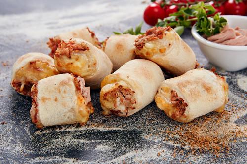 Pizzabrötchen Käse & Thunfisch 8 Stück