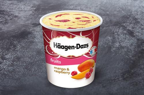 Häagen-Dazs Mango and Raspberry
