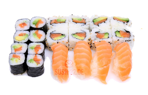 Salmon Lovers SushiBox – 20 Stk