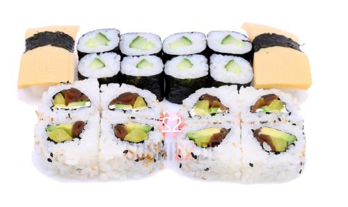 Veggie Lovers SushiBox – 18 Stück