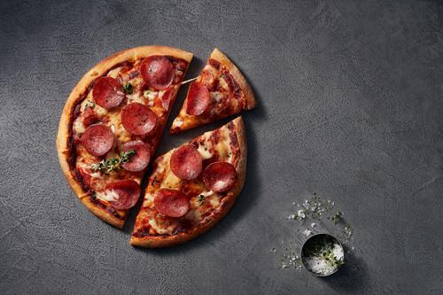 Pizza Salami (halal) ø 26cm