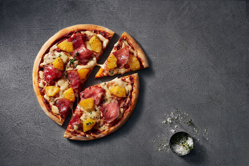 Pizza Hawaii (halal) ø 26cm