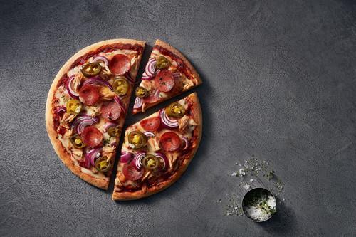 Pizza Neptun on Fire (halal) ø 26cm