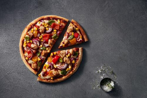 Pizza Western (halal) ø 26cm