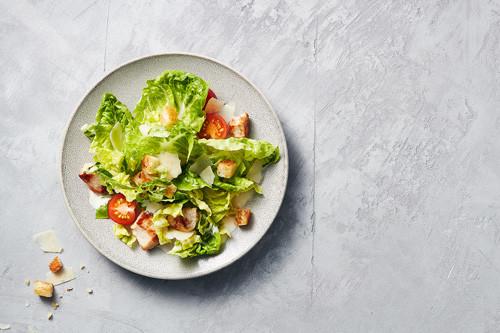 Caesar Chicken Salat (halal)