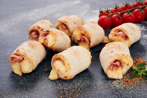 Pizzabrötchen Käse & Schinken 8 Stück (halal)