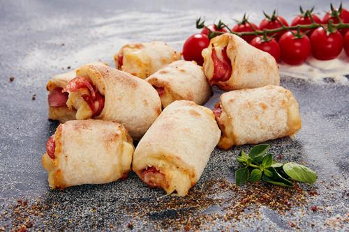 Pizzabrötchen Käse & Salami 8 Stück (halal)