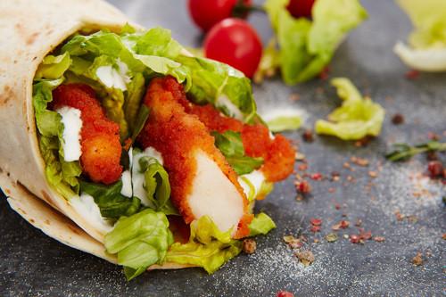 Hot Chicken Wrap (halal)