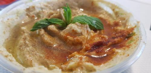 Hummus mit Kümmel  und Paprika (normal)