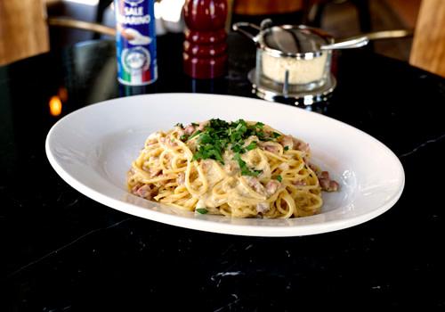 Spaghetti Chitarra Carbonara
