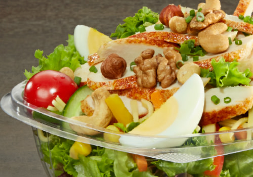 Salat Chicken Fitness