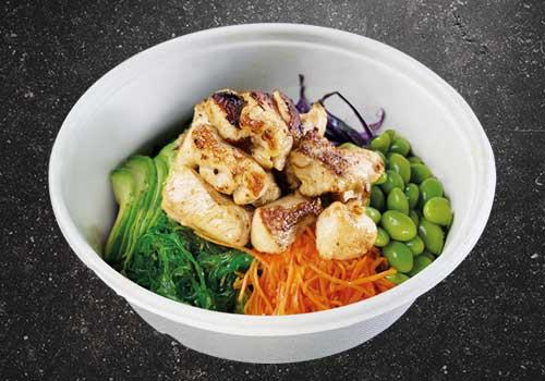 Poké Bowl grilled Chicken