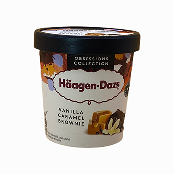 Vanilla Caramel Brownie 460ml