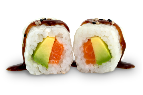 Reispapier Maki Sake Avocado - 6 Stück