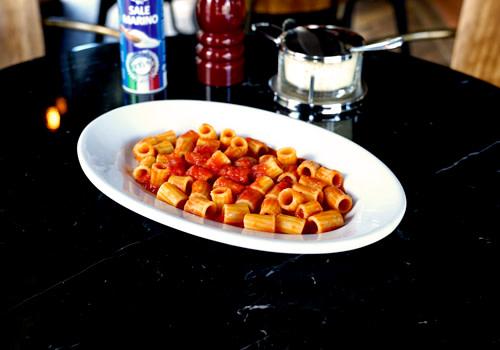 Maccheroncini avec sauce tomate