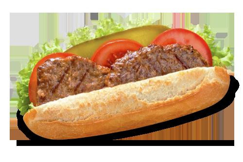 Broodje Bufburger (100% rundvlees)