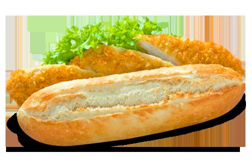 Broodje Kipkrokant